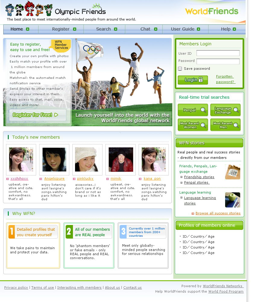 yahooolympic网站设计